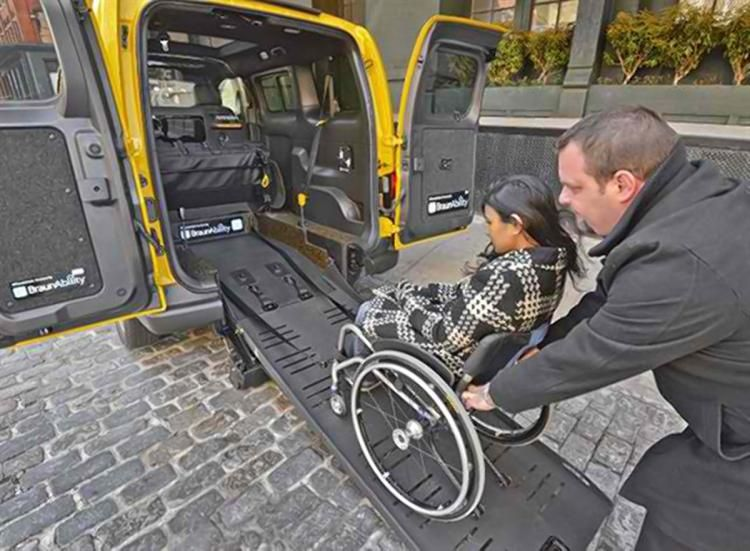 E-HAIL ALLOWS USERS TO FIND WHEELCHAIR-FRIENDLY TAXIS